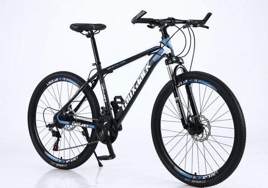 Lauxjack Mountainbike »Fahrräder 26 Zoll Mountainbike, MTB, Shimano, hydraulische Scheibenbremse«, 21 Gang Shimano, Kettenschaltung