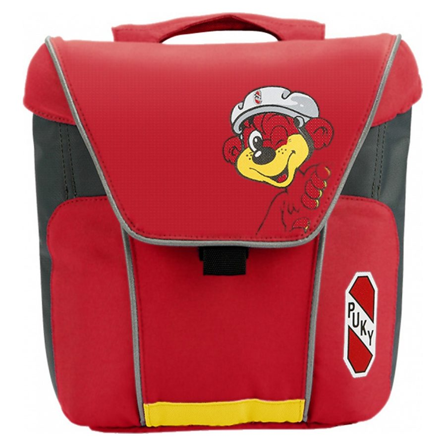 Puky Kinderfahrrad Zubehör »DT3 Doppeltasche rot«