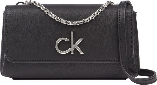 Calvin Klein Mini Bag, mit silberfarbnenen Details