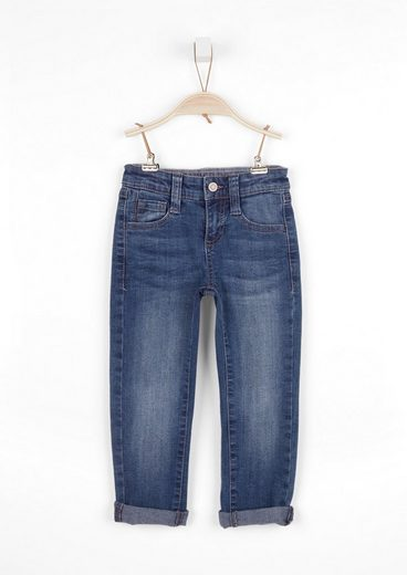 s.Oliver 5-Pocket-Jeans »Slim: Denim mit Waschung«