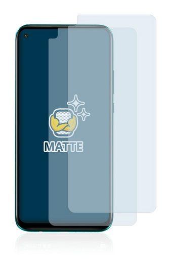 BROTECT Schutzfolie »für Huawei Nova 5z«, (2 Stück), Folie Schutzfolie matt entspiegelt