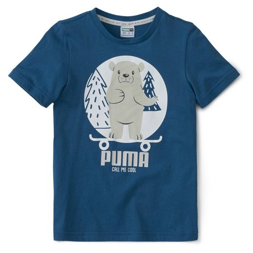 PUMA T-Shirt »Animals Suede Kinder T-Shirt«
