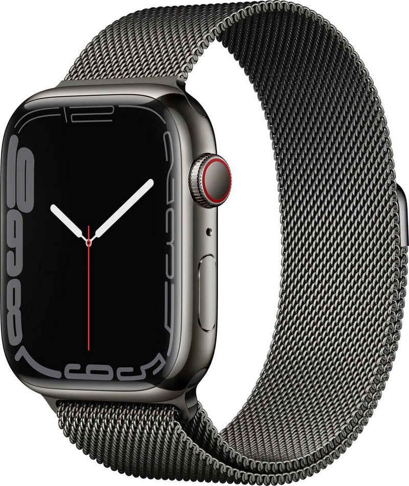 Apple Watch Series 7 GPS + Cellular, 45mm Smartwatch (Watch OS 8)