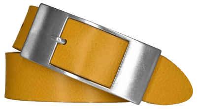 Mytem Gear Ledergürtel »MYTEM-GEAR Damen Leder Gürtel 35 mm Nappaleder«