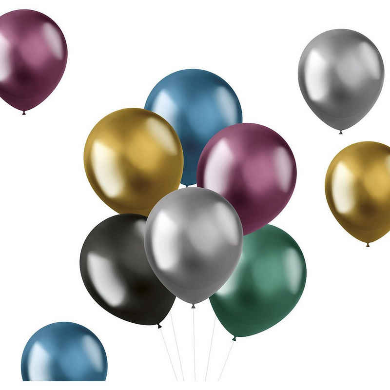Folat Luftballon »Luftballons Shine Intense 33 cm, 50 Stück«