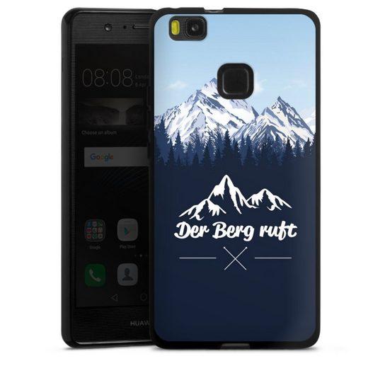 DeinDesign Handyhülle »Winterparadies« Huawei P9 Lite (2016), Hülle Wanderlust Berg Himmel
