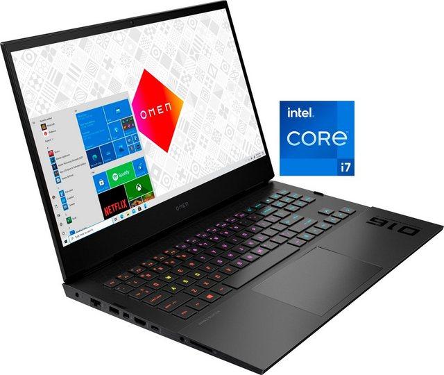 OMEN 16-b0085ng Notebook 40,9 cm 16,1 Zoll, Intel Core i7, GeForce RTX 2070 Max-Q, 512 GB SSD, Kostenloses Upgrade auf Windows 11, sobald verfügbar