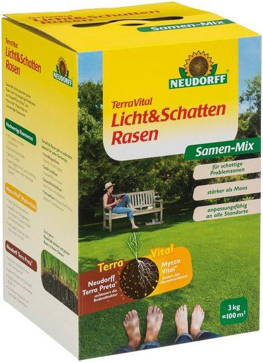 Neudorff Rasensamen »TerraVital Licht&Schatten«, 3 kg