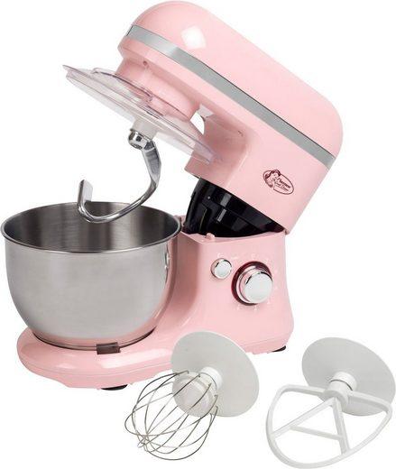 bestron Küchenmaschine AKM900SDP, 1000 W, 2,5 l Schüssel