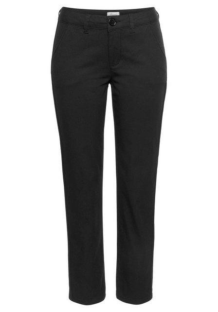 Hosen - Boysen's 7 8 Hose mit modischem Seitenstreifen › schwarz  - Onlineshop OTTO
