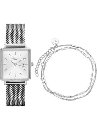 ROSEFIELD Quarzuhr »Rosefield Damen-Uhren-Sets Analog Quarz«