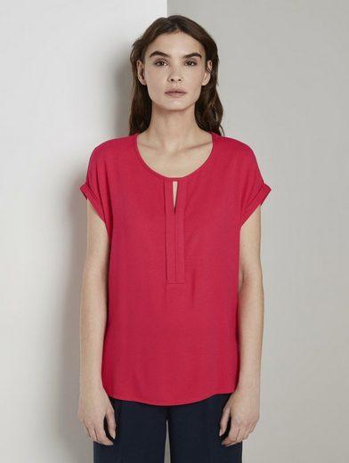TOM TAILOR T-Shirt »T-Shirt aus Chiffon«