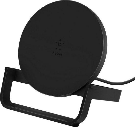 Belkin »Wireless Charging Stand mit Micro-USB Kabel & NT« Induktions-Ladegerät (Intelligente Schaltungen erkennen angeschlossene Geräte)