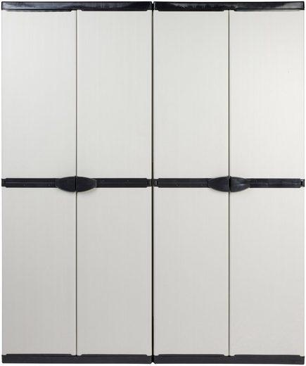 Kreher Spind »Armadio« (Set) B/T/H: 136x39,5x168 cm, abschließbar