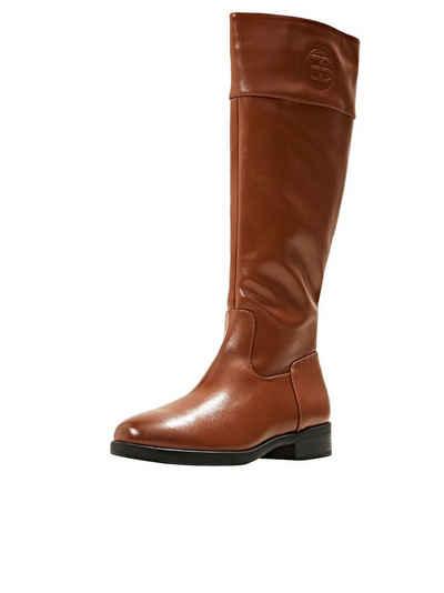 Esprit »Kniehohe Stiefel in Lederoptik« Stiefel