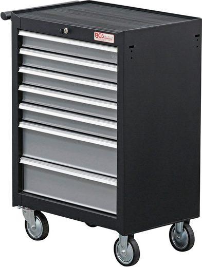 BGS Unbefüllter Werkstattwagen 7 Schubladen