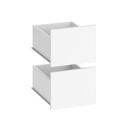 Vicco Schublade »Schubladenset Visit Regal Schlafzimmer Umkleide zweiteilig Erweiterung«