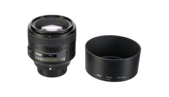 Nikon »AF-S NIKKOR 85mm 1:1,8 G« Objektiv