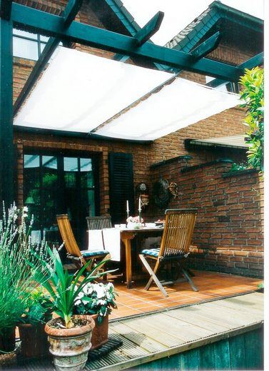 FLORACORD Sonnensegel »Innenbeschattung«, mit Seilspann-Set, BxL: 330x200 cm, 1 Bahn
