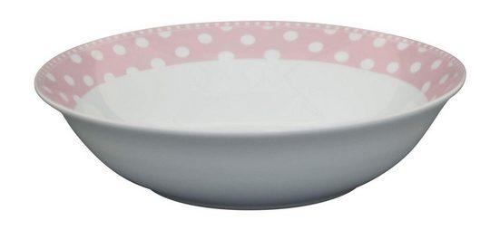 Krasilnikoff Salatteller »Krasilnikoff Salat Schale Punkte rosa«