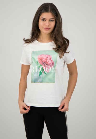 ONE MORE STORY T-Shirt mit hochwertiger Baumwoll-Gewebeware