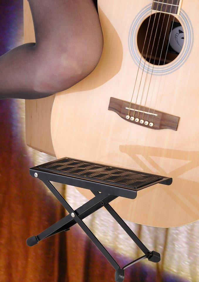 Gitarrenfußbank