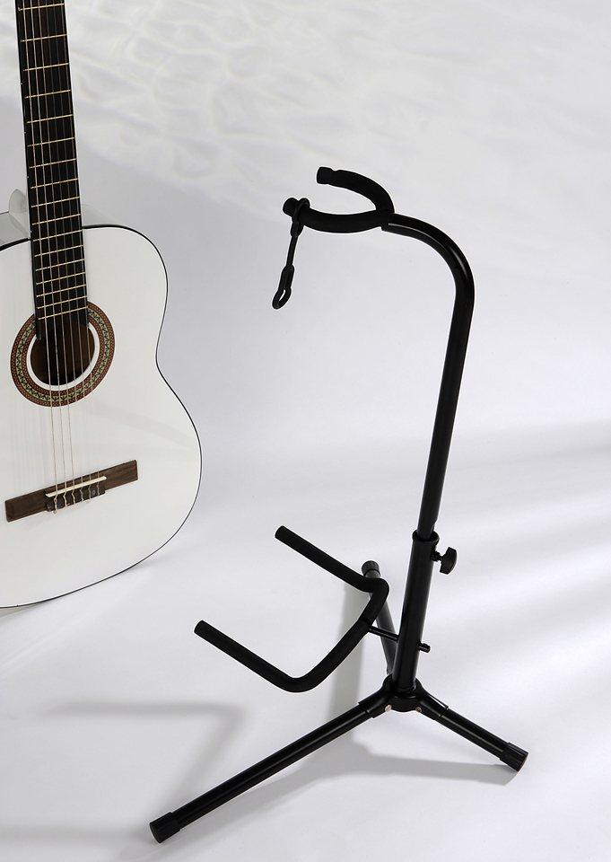 Gitarrenständer in schwarz