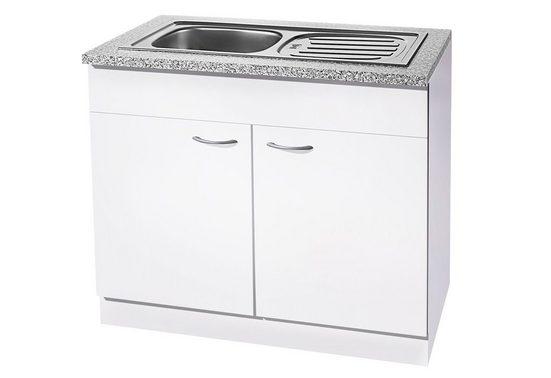 wiho Küchen Spülenschrank »Kiel« 100 cm breit