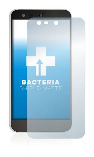 upscreen Schutzfolie »für ZTE Blade X5«, Folie Schutzfolie matt entspiegelt antibakteriell