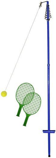 Tennisschläger »64010 Circletennis - Twistball blau« (Set, 4-tlg), mit Stange und Ball