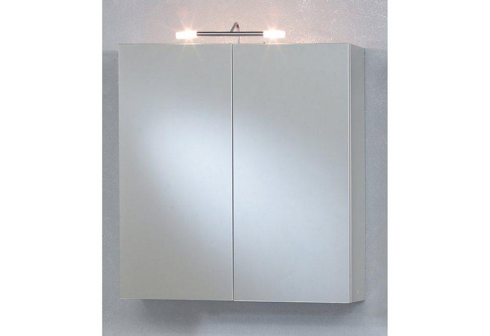 Kesper Spiegelschrank »Aue« mit Beleuchtung in Weiß