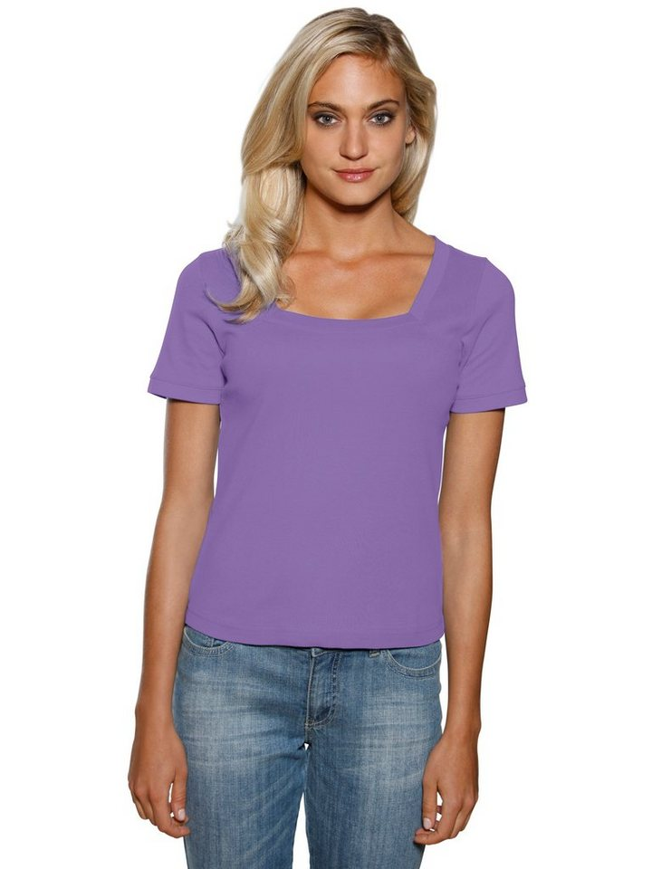 Carré-Shirt in lila