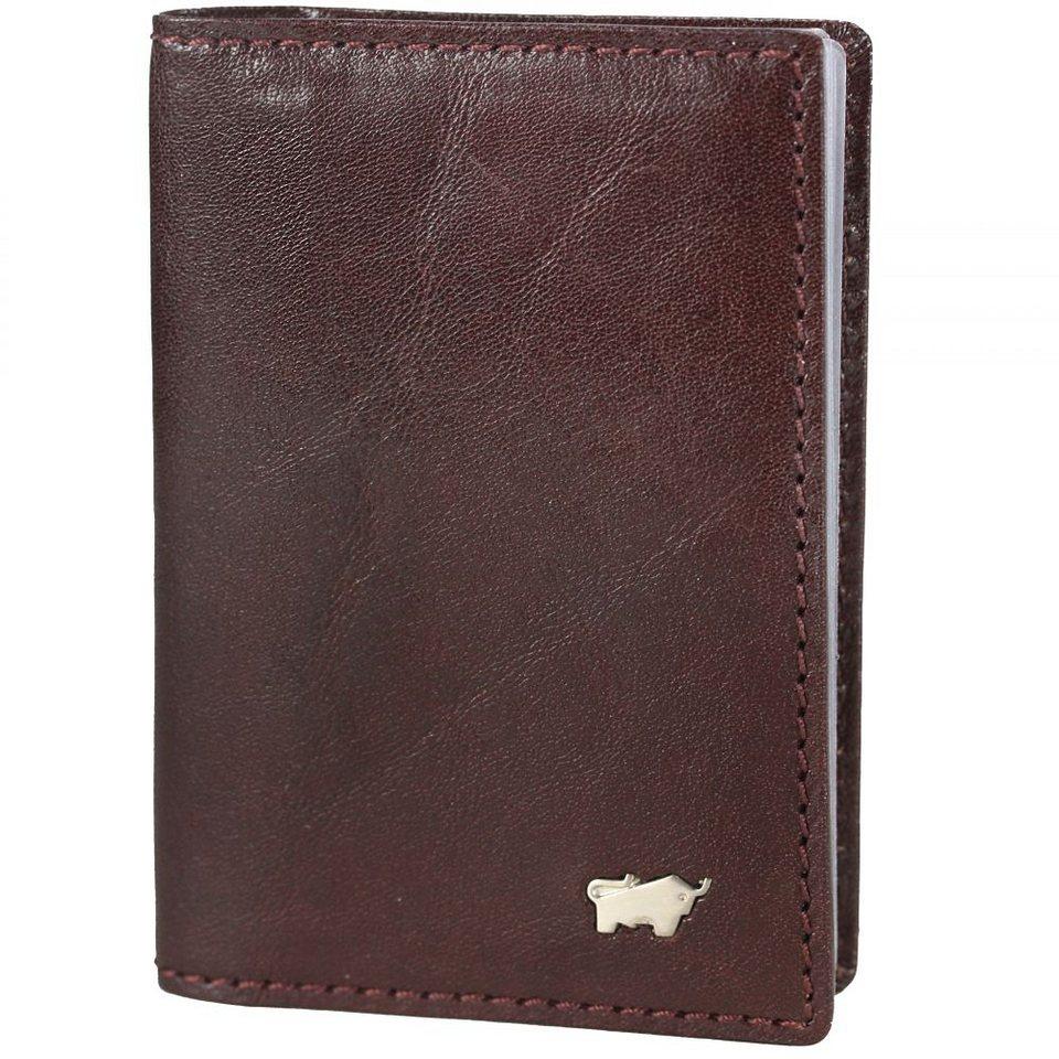 Braun Büffel Basic Kreditkartenetui Leder 7 cm in palissandro