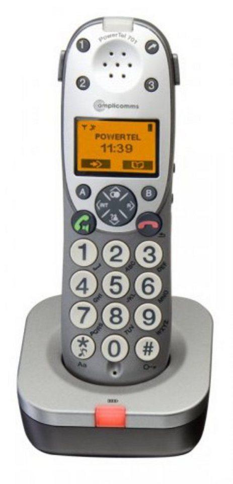 Audioline Mobilteil »amplicomms PowerTel 701« in Grau