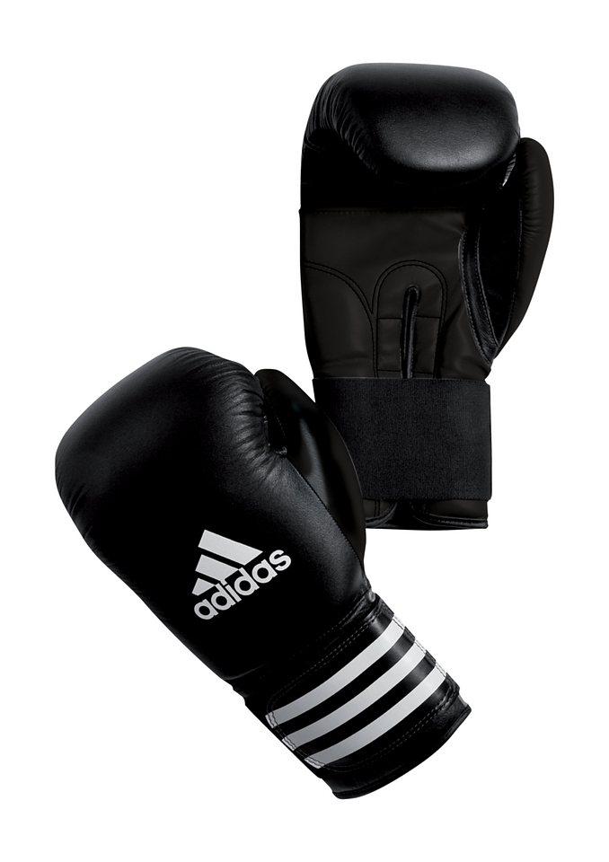 Boxhandschuhe, adidas Performance, »SMU«, in 2 Größen lieferbar in schwarz-weiss