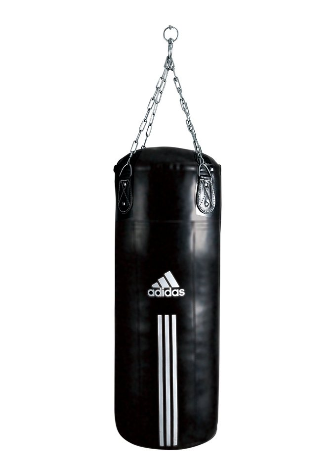 Boxsack, adidas Performance, »PU Training Bag«, in 3 Größen lieferbar in schwarz