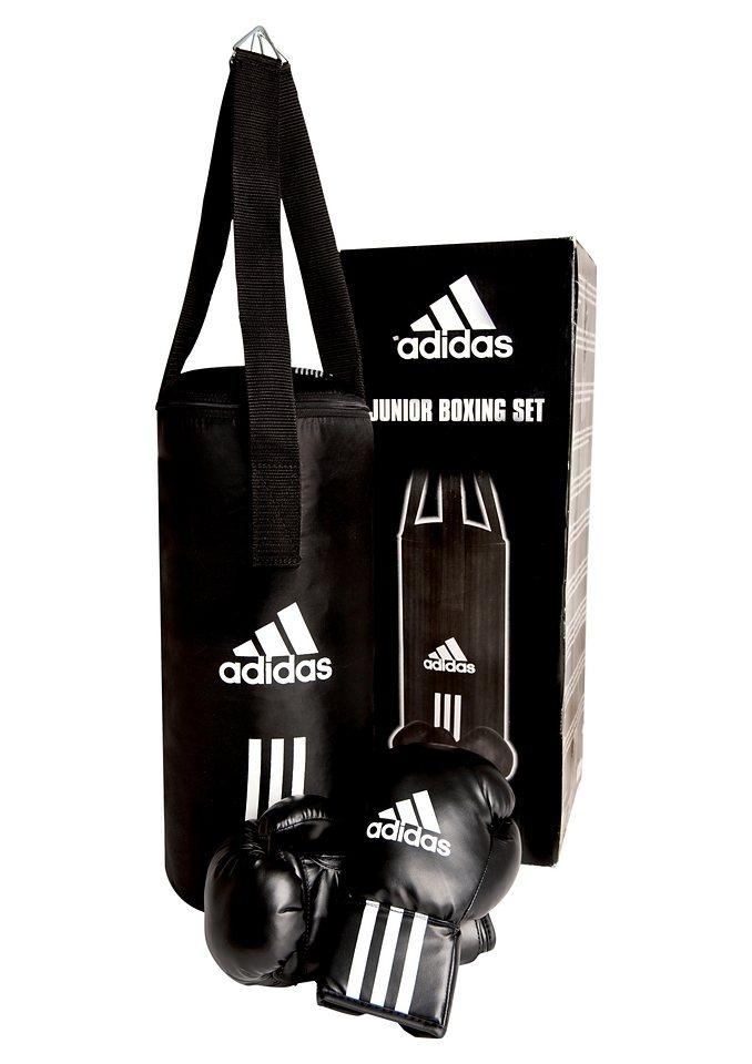 SET: Kinder-Box-Set, Adidas Performance in schwarz