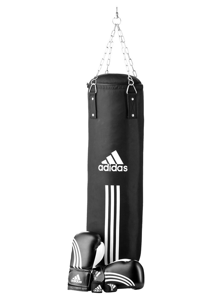 SET: Box-Set, Adidas Performance in schwarz