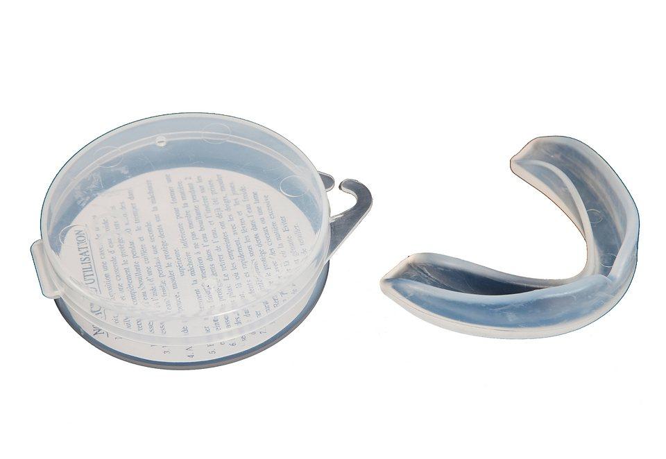 Zahnschutz, adidas Performance, »Single New CE Development«, in 2 Größen lieferbar in trasparent