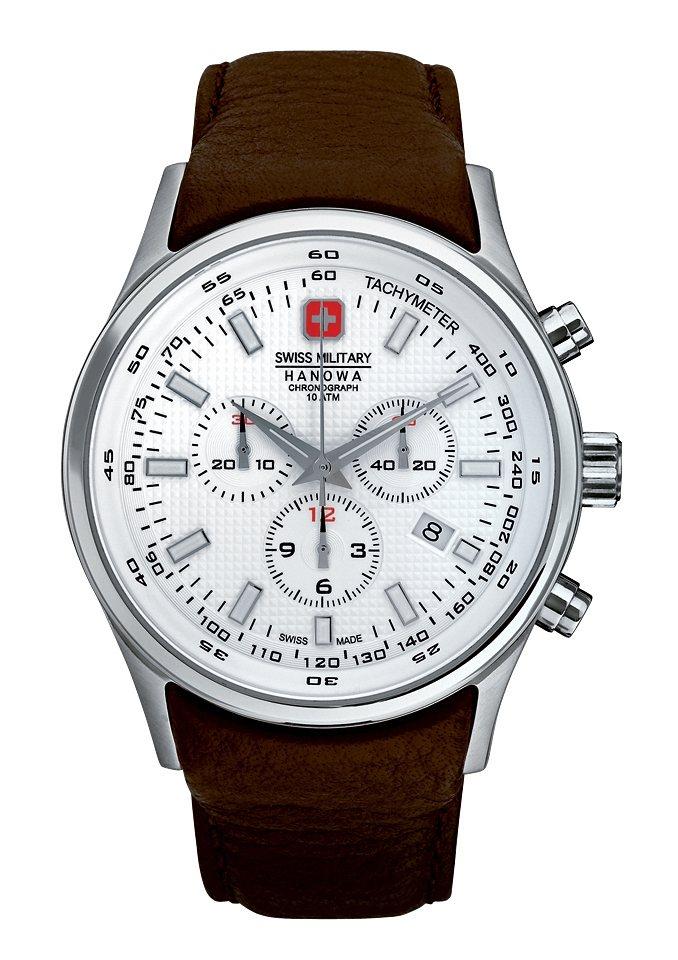 """Swiss Military Hanowa, Chronograph, """"NAVALUS CHRONO, 06-4156.04.001.05"""" in braun"""