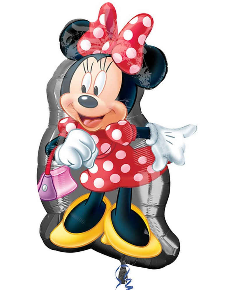 Amscan Folienballon »Folien Ballon mit Minnie Mouse Motiv«