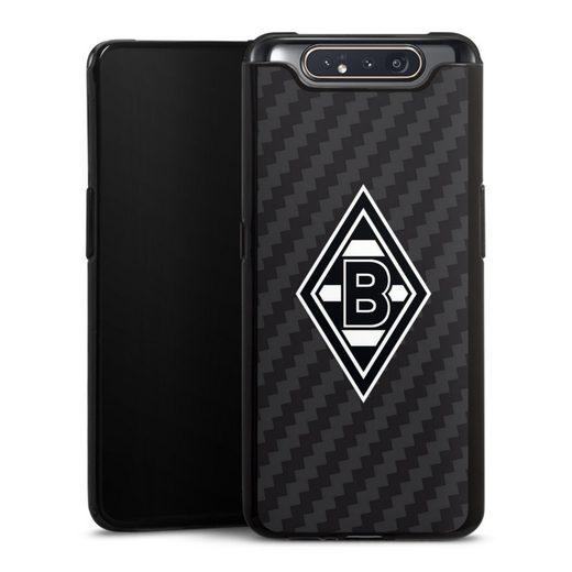 DeinDesign Handyhülle »Borussia Raute Carbon« Samsung Galaxy A80, Hülle Gladbach Borussia Mönchengladbach Carbon