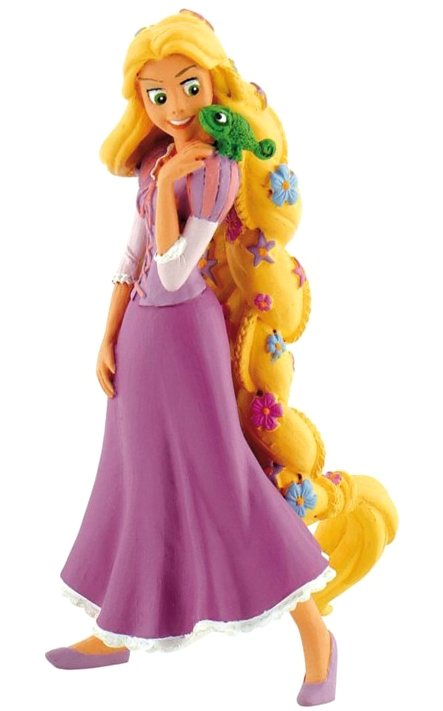 BULLYLAND Comicwelt Walt Disney Rapunzel - Rapunzel mit Blumen