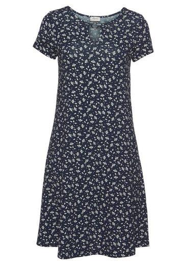 Boysen's Jerseykleid in leichter A-Form