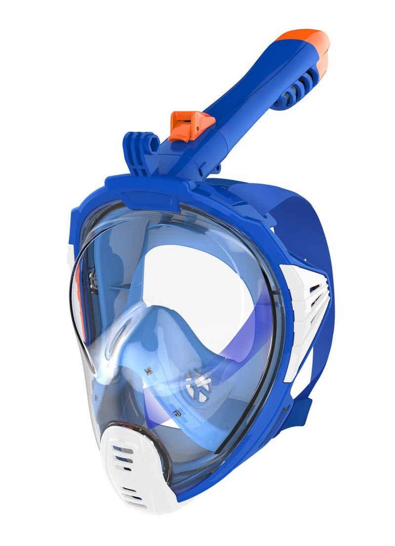 AQUAZON Taucherbrille »AQUAZON SIRIUS. SGS getestete Schnorchelmaske, Tauchmaske, Vollgesichtsmaske für Erwachsene und Kinder«