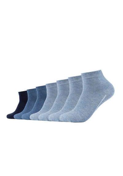 Camano Socken (7-Paar) ca-soft im 7er-Pack ohne Gummidruck
