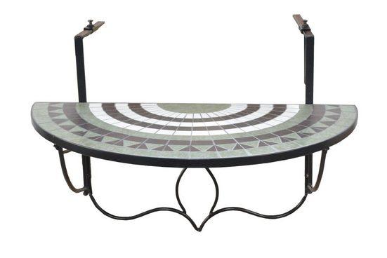 moebel-direkt-online Balkonhängetisch »Bodo« (1-St), aus Metall