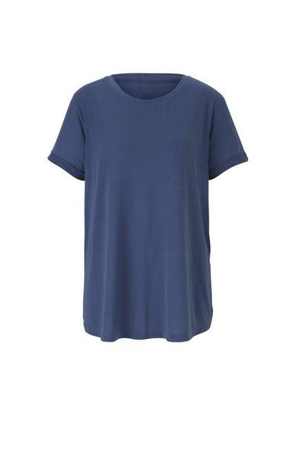 Rundhalsshirt im sportiven Schnitt | Bekleidung > Shirts > Rundhalsshirts | B.C. BEST CONNECTIONS by Heine