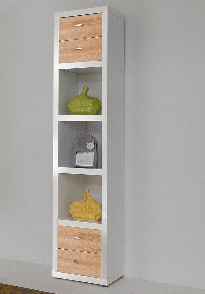Regal, HMW Möbel, Breite 44 cm in weiß