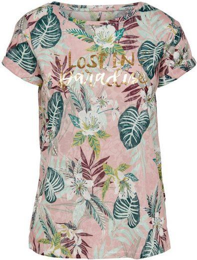 Only Print-Shirt »ONLRILLA« mit floralem Alloverdruck